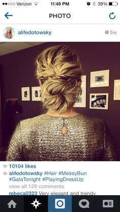 Possible bridesmaid hairstyle?