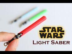 Darth Vader Light Saber polymer clay tutorial