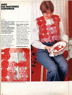 """Le gilet en """"yoyos"""" du n° 17 de mars 1975"""