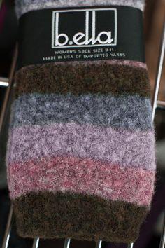 Socks By Sock Dreams » Socks » Lexy Wool Boucle Stripes