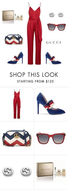 """""""Gucci Boo"""" by phat-panda ❤ liked on Polyvore featuring Diane Von Furstenberg and Gucci"""
