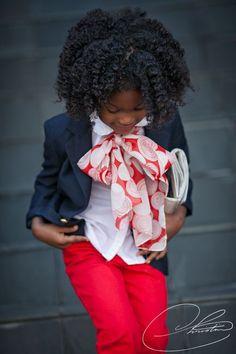 Little Lady.... - http://www.blackhairinformation.com/community/hairstyle-gallery/kids-hairstyles/little-lady/ #kidshair #twistout #naturalhair