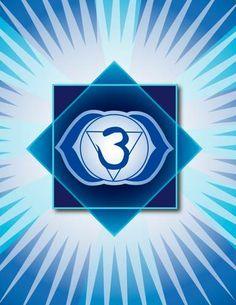 Third EyeChakra  Third Eye Chakra Affirmation: My third eye intuits inner knowledge.