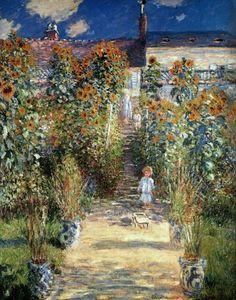 [Claude Monet - - The Artist's Garden at Vetheuil]