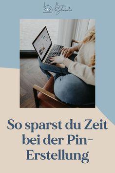 Mit meinen Tipps erstellst du schnell und einfach neue Pin-Grafiken! Pinterest Profile, Start Ups, Pinterest Marketing, Design, Graphics, Things To Do, Simple, Tips