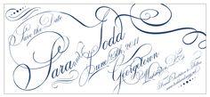 Ornate french script STD