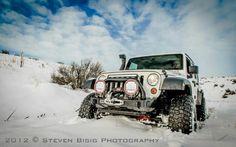 Manejando en nieve