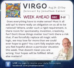 ♌ #Leo - Weekly forecast for Dec 5-11th 2015 from Jonathan Cainer. Click the image above to read your forecast for today! #Horoscope #Zodiac #Astrology