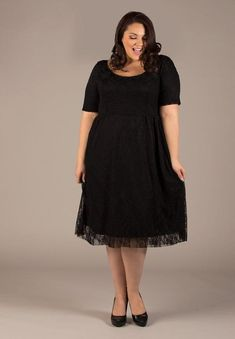 373c004a7d8 Kara Lace Dress In Black Perfect For Special Occasions - Candy Couture  Boutique White Lace Shorts
