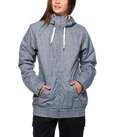 Designed to look like your favorite hoodie, this snowboard jacket has your style and shredding needs covered with a durable DriFlight waterproof exterior and Thinsulate insulation that will keep you warm and dry all day long.