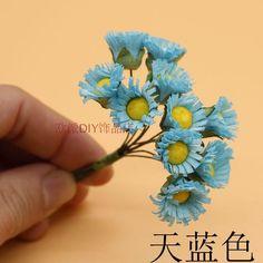 DIY свадебные приглашения ручной работы Sen женский корейский диких подсолнухов ромашка венок аксессуары Тафтса 10 - глобальной станции Taobao
