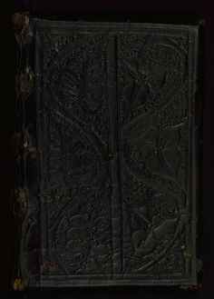 Salzburg sermons, Original binding, Walters Manuscript W.740, Upper board outside