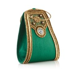 Green Gleam Wrist Bag