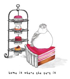 Creative Sketchbook: Little Doodles by Kate Wilson! Food Illustrations, Illustration Art, Kate Wilson, Isometric Art, Little Doodles, Food Painting, Painting Wallpaper, Food Drawing, Little Birds