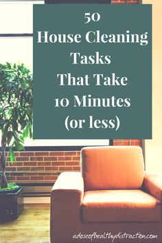 Do you ever feel overwhelmed by all of the cleaning tasks in your home? If you do just one or two small things you can make a huge impact! Here is my handy list of short, doable house cleaning tasks that take 10 minutes or less. Upholstery Cleaning Services, Cleaning Services Company, Deep Cleaning, Spring Cleaning, Cleaning Hacks, Monthly Cleaning Schedule, How To Be More Organized, Cleaning Wood Floors, Clean Fridge
