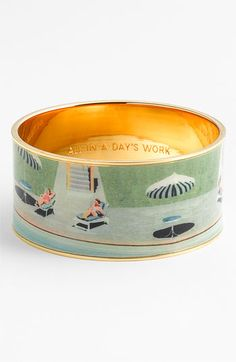 All in a Day's Work bangle by Kate Spade