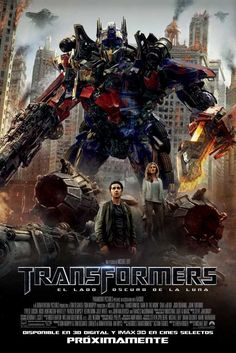 Transformers: Dark of the Moon (Mexican) 27x40 Movie Poster (2011)