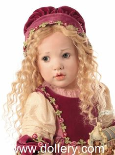 Sleeping Beauty Hildegard Gunzel Collectible Dolls