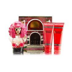 Nicki Minaj Minajesty Fragrance Gift Set - Women's Fragrance in Red Gift Sets For Women, Gifts For Teens, Nicki Minaj Perfume, Lemon Blossoms, Celebrity Perfume, Real Queens, Cosmetic Sets, Beauty Shop, Smell Good