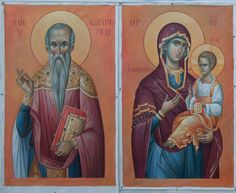 1 post published by iconsalevizakis during April 2016 Jesus Christ Images, Byzantine Icons, Orthodox Icons, Catholic, Saints, Princess Zelda, Painting, Fictional Characters, Child