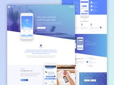 Appy Applanding Page by Moinul Ahsan