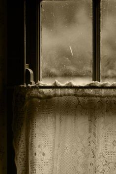 """""""All saying must be balanced by unsaying, and knowing must be humbled by unknowing,"""" -Richard Rohr. Through The Window, Through The Looking Glass, Creepy Houses, Window View, Cool Lighting, Windows And Doors, Cool Photos, The Outsiders, Cottage"""