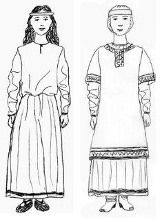 Kievan Rus womens clothing | Ana Betina - Academia.edu