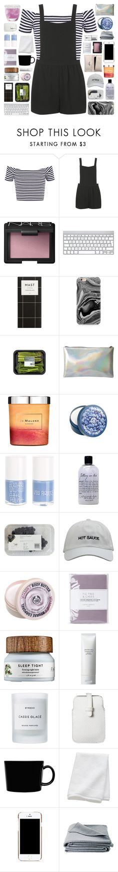 """metanoia"" by randomn3ss ❤ liked on Polyvore featuring Topshop, NARS Cosmetics, Samsung, Jo Malone, The Body Shop, Uslu Airlines, philosophy, Laura Ashley, Shiseido and Byredo"
