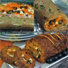 Sugestão simples para o #almoço, o Rocambole de Carne Light, (feito com aveia) é muito prático e delicioso! Quem vai fazê-lo?  #Receita aqui: http://www.gulosoesaudavel.com.br/2012/10/30/rocambole-de-carne-light/