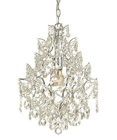 This Chrome Cosmo Chandelier is perfect! #zulilyfinds
