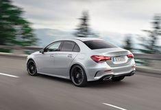 2020 Mercedes-Benz A-Class Sedan Rear View Driving Photo Van Mercedes, Aston Martin Db10, Audi A3 Sedan, Benz A Class, Hatchbacks, Bmw 2, Benz C, Auto News, Toyota Supra
