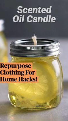 Repurpose Clothing For Home Hacks!