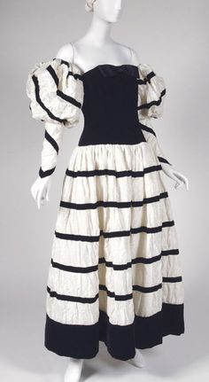 Dress Karl Lagerfeld for Chanel, 1990 The Philadelphia Museum of Art