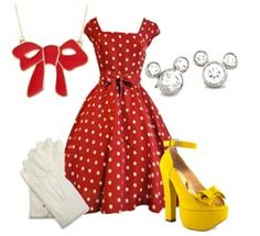 looks like minni mouse would wear it but cute