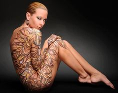 Body paint by Shannon Holt