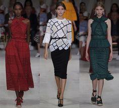 Fantasy Fashion Design: Desfile de moda, Oscar de la Renta Primavera-verano 2016, visto en la semana de la moda de Nueva York