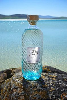 ✿༺ Isle of Harris Gin. Made with sugar kelp, harvested in lochs in the Outer Hebrides.
