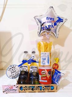 Ideas Para, Diy And Crafts, Sweets, Box, Gifts, Happy, Food, Men Gift Baskets, Easy Crafts
