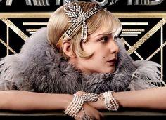 O figurino do filme O Grande Gatsby,