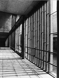 Le Corbusier / Iannis Xenakis    La Tourette    1960