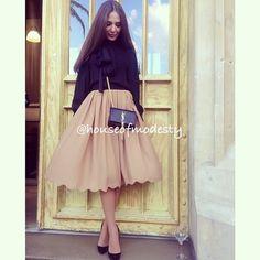 Wavy skirt