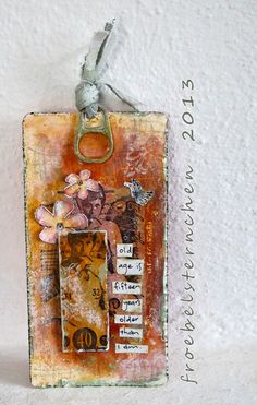 #papercraft #tag #embellishments froebelsternchen