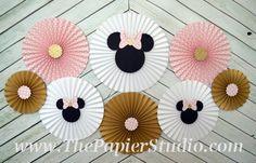 Rosa y oro inspirado del ratón de Minnie juego por ThePapierStudio