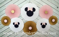 Hey, I found this really awesome Etsy listing at https://www.etsy.com/listing/450155174/pink-and-gold-minnie-mouse-inspired-set