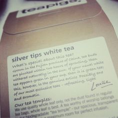 What's so special about our silver tips tea?