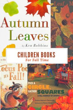 The Best Children Picture Books for Fall!! #Falltime #ChildrenBooks