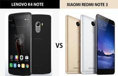 Lenovo K4 Note Vs Xiaomi Redmi Note 3: RIVALS IN BATTLE.
