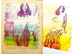 Printing with Gelli Arts®