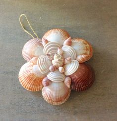 Shell Mirror Ornament