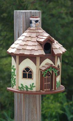 Home Bazaar Yorkshire Cottage Bird House!
